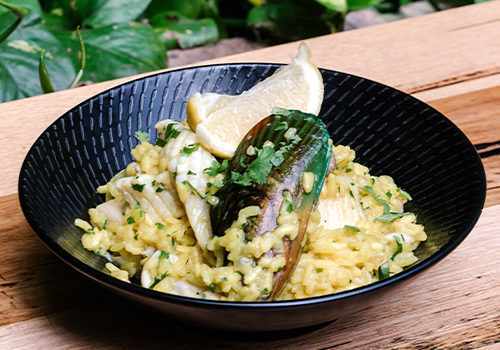The Lucky Hotel, Newcastle. Join Us On Thursday's For $15 Paella With Mixed Seafood And Chorizo.