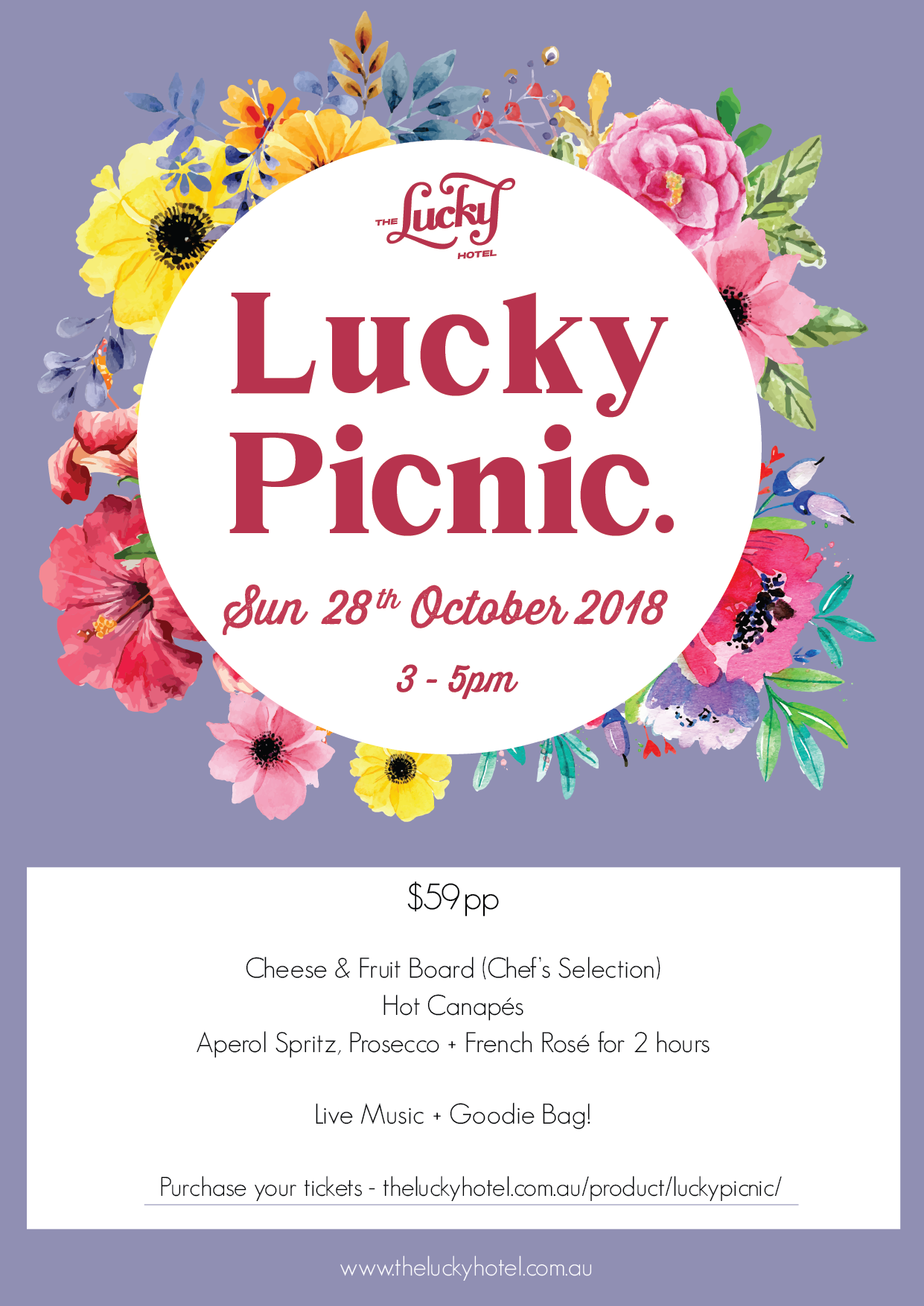 Lucky Picnic Launch