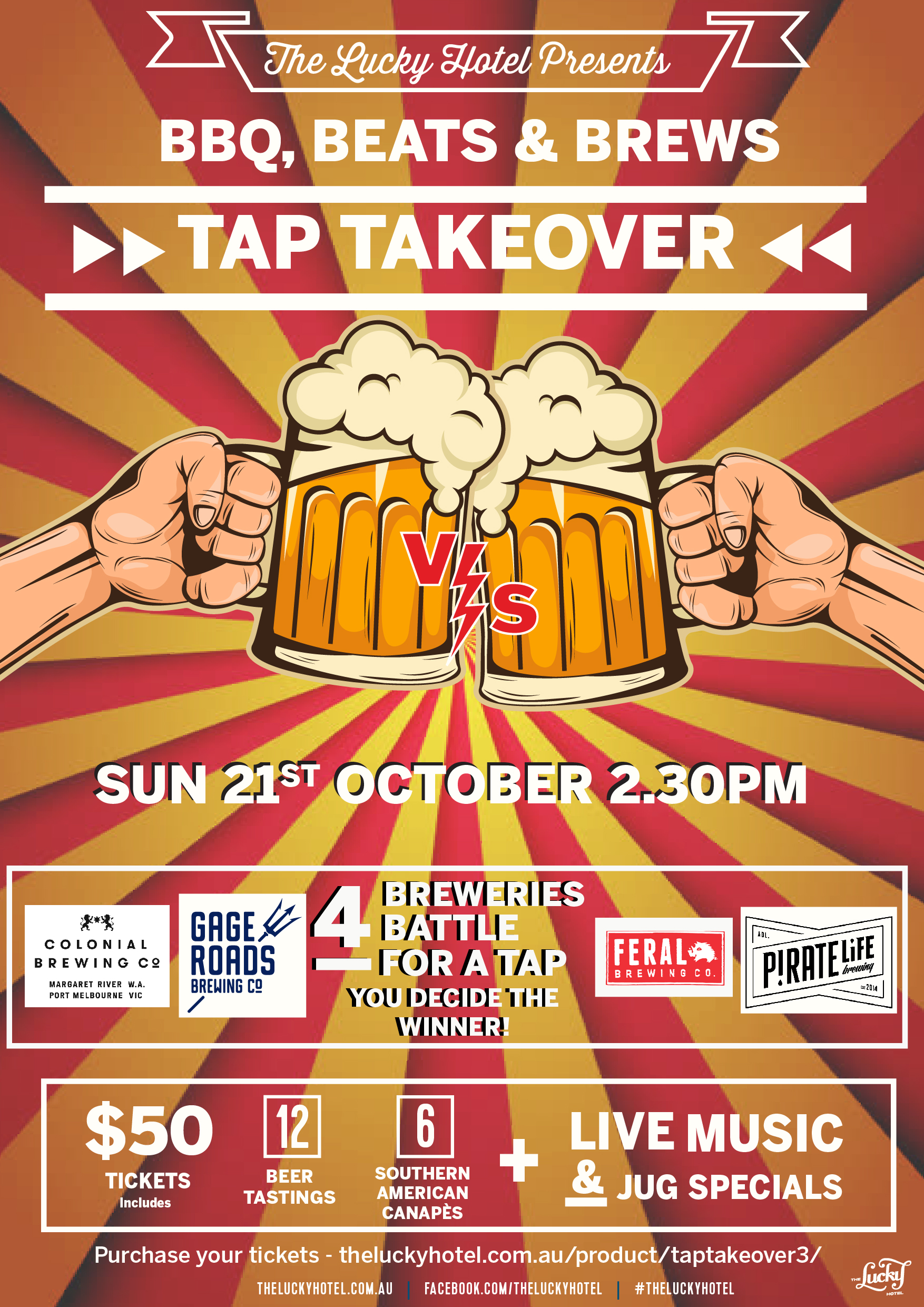 Tap Takeover October 2018