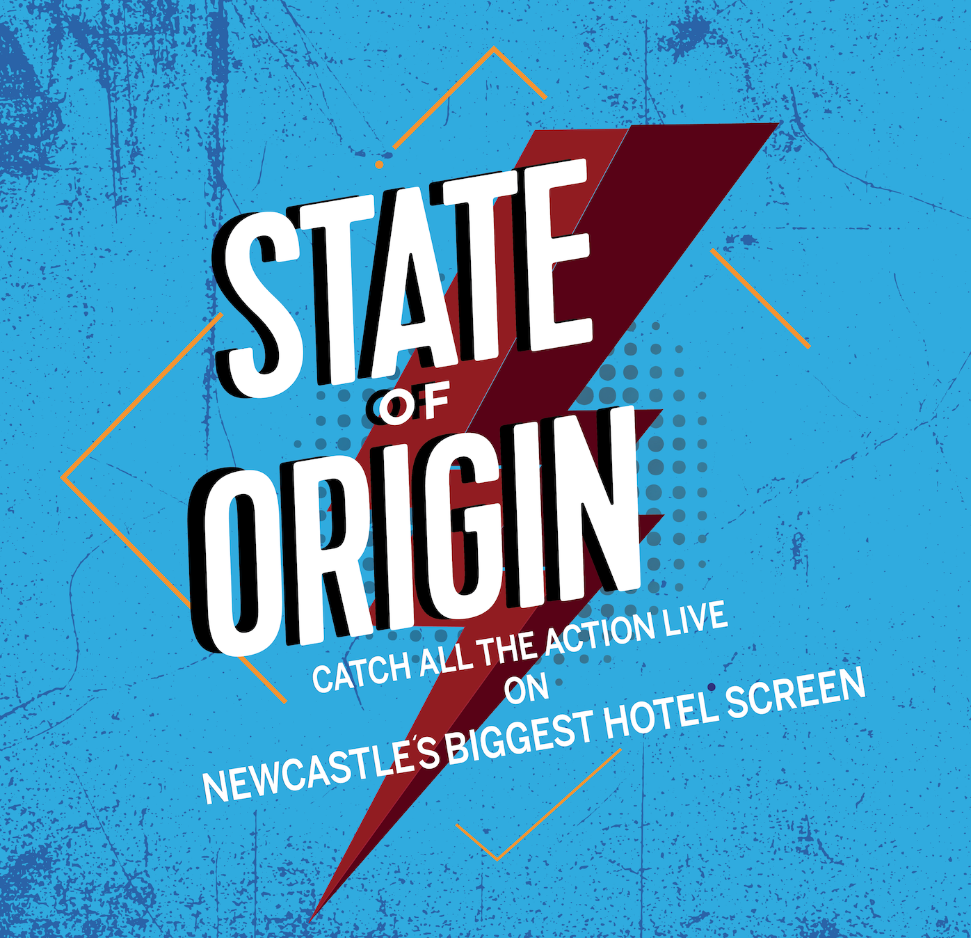 State Of Origin At The Lucky