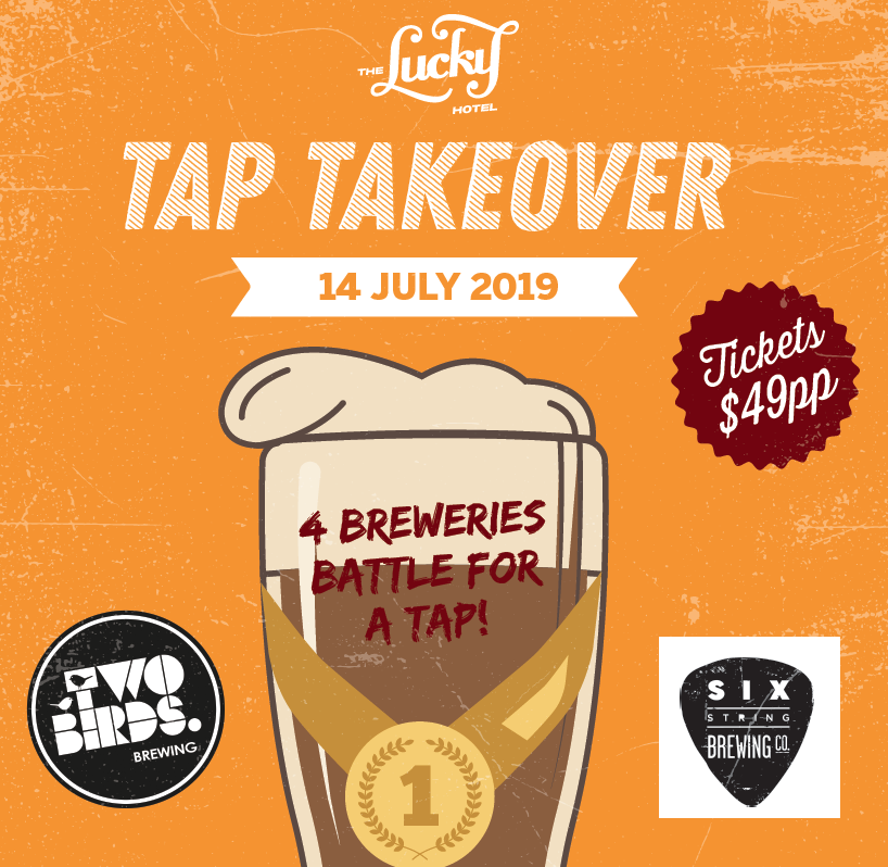 Tap Takeover July Edition